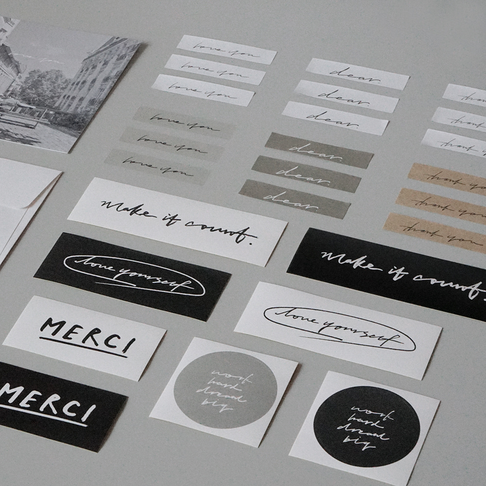 Calligraphy Sticker pack