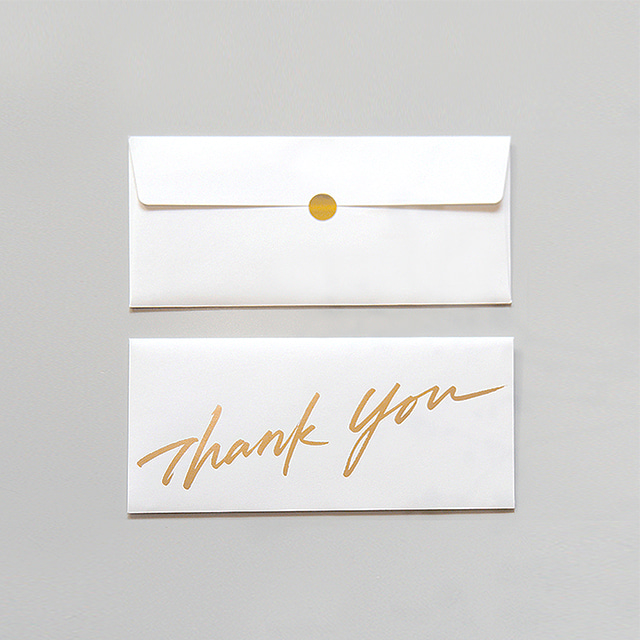 Thank you gift envelope (2ea)